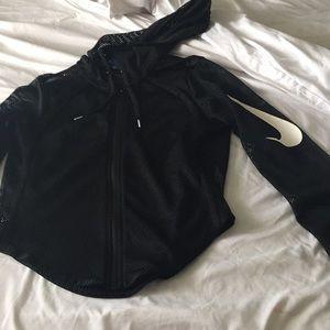 Nike mesh zip up jacket